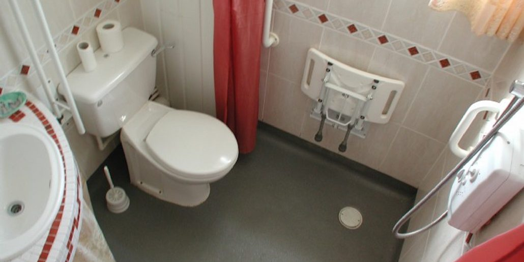 a disabled bathroom